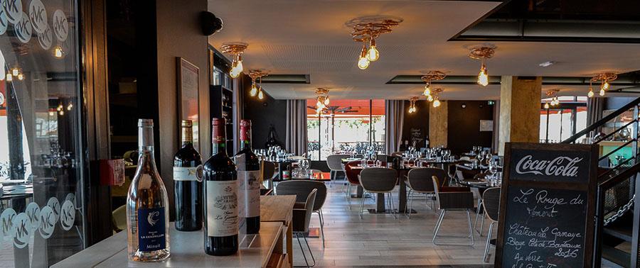 Restaurant Makila Kafé à Bord'eau Village sur les quais de la Garonne à Bordeaux